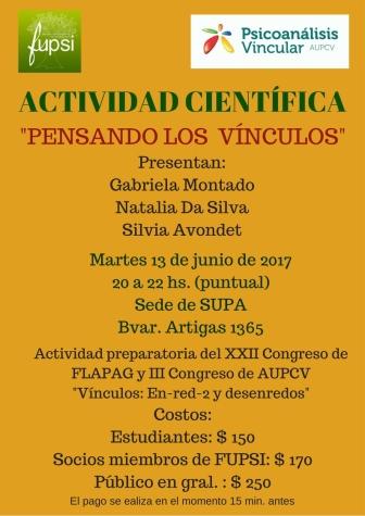 ACTIVIDAD CIENTIFICA 13 DE JUNIO