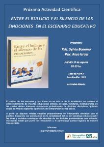 Entre el bullicio y el silencio de las emociones en el escenario educativo.