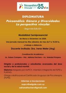 Psicoanálisis, Género y Diversidades.